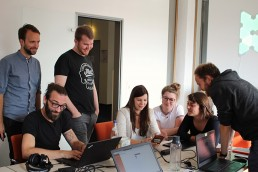 PTSGroup_Hackathon bei der PTSGroup