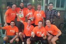 PTSGroup_Team beim Sport
