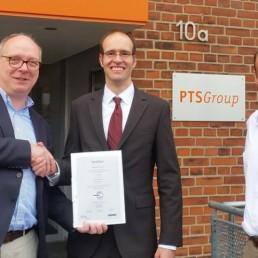 PTSGroup-ISO-27001-Rezertifizierung