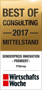 WiWo_BoCMittelstand_SonderpreisInnovation_PTSGroup