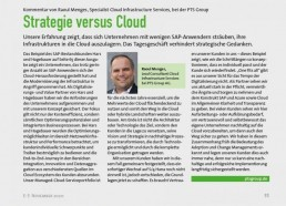 PTSGroup_E-3-Magazin_Strategie versus Cloud_Kommentar