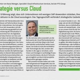 PTSGroup_E-3-Magazin_Strategie versus Cloud_Kommentar