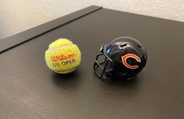 MannschaftsMittwoch Christian Tennisball