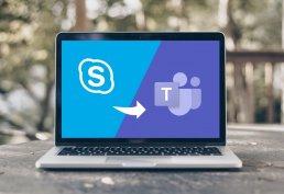 affinis-Schlussstrich für Skype for Business Online-Upgrade zu Microsoft Teams