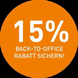 Rabatt-Badge Microsoft Lizenzen
